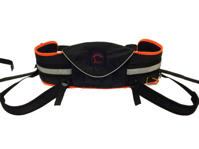 ZeroDC Seat Belt for canicross, dogtrekking, bikejoring and skijoring GRIZZLY